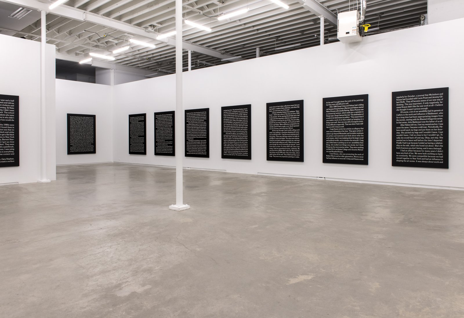 Ron Terada, installation view, Jack, Catriona Jeffries, Vancouver, 2014 by Ron Terada