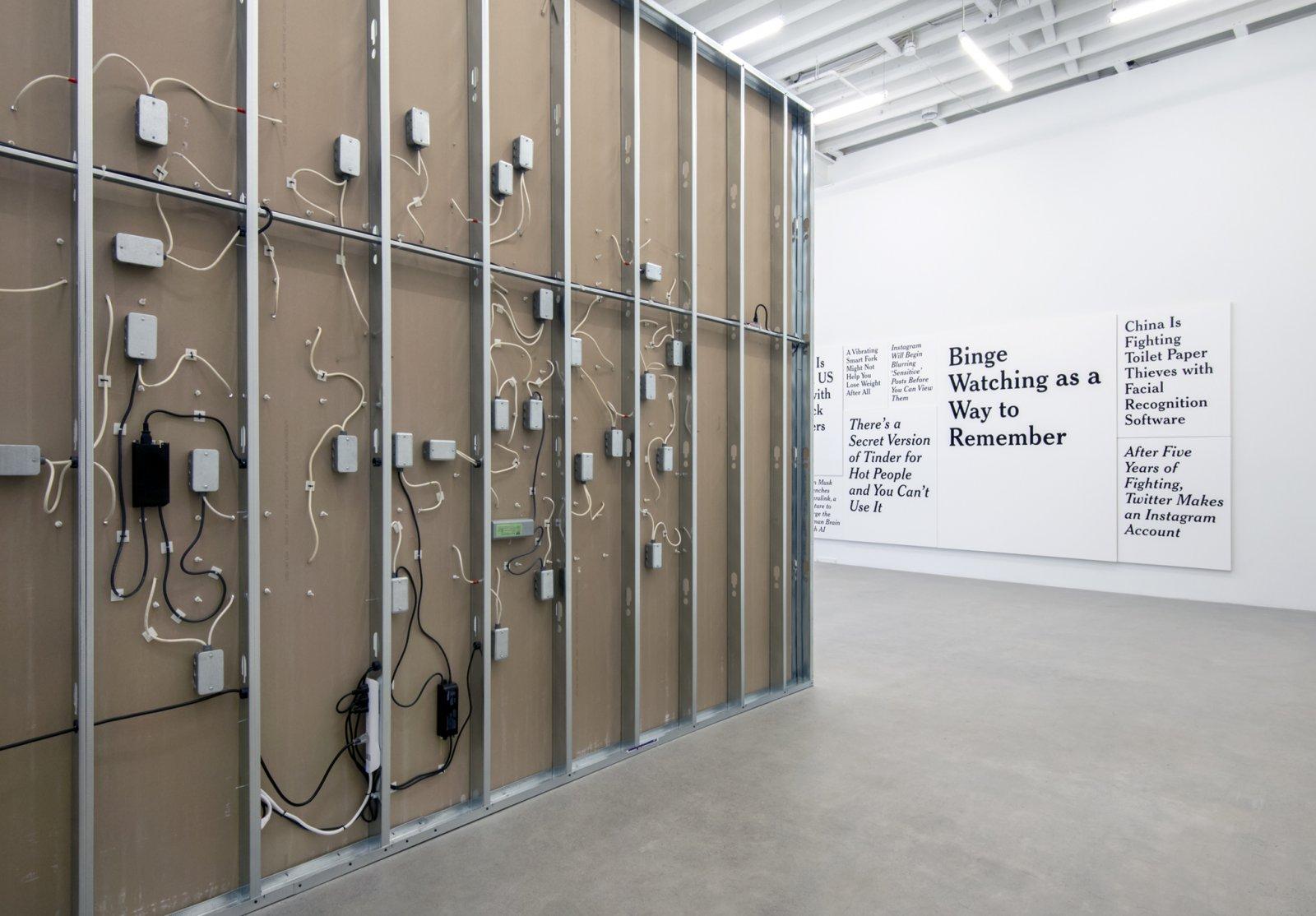 Ron Terada, installation view, TL; DR, Catriona Jeffries, 2017 by Ron Terada