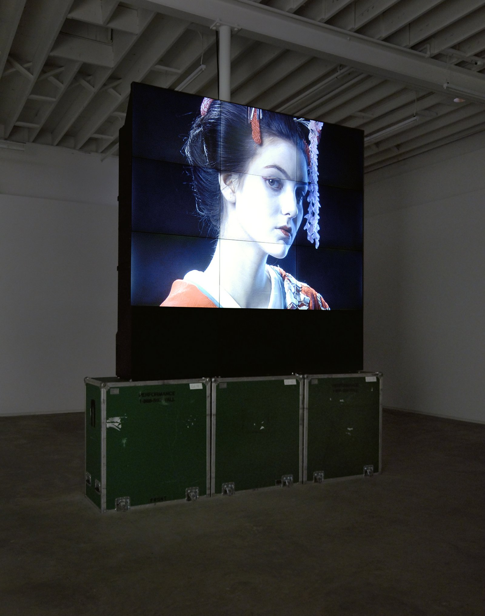 ​Ron Terada, Voight Kampff, 2008, single channel blu-ray DVD: 2 minutes, edition of 4, dimensions variable by Ron Terada