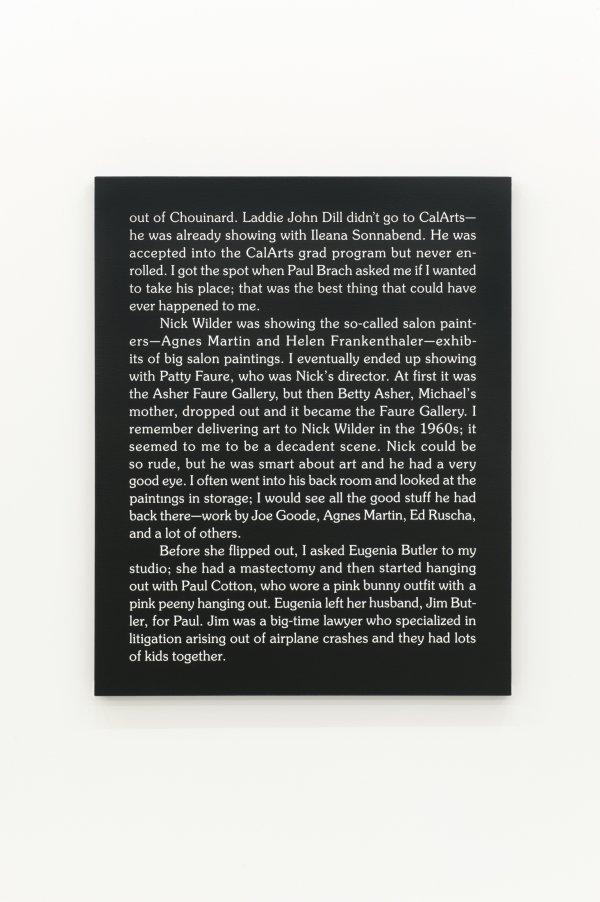 Ron Terada, Jack, 2011, acrylic on canvas, 40 x 32 in. (102 x 81 cm)