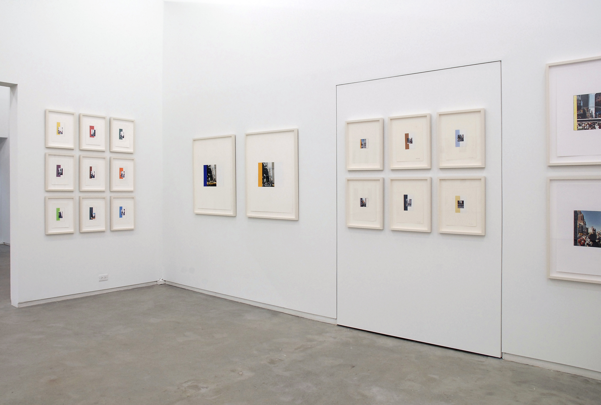 Ian Wallace, installation view, Process as Work, Catriona Jeffries, 2008 by