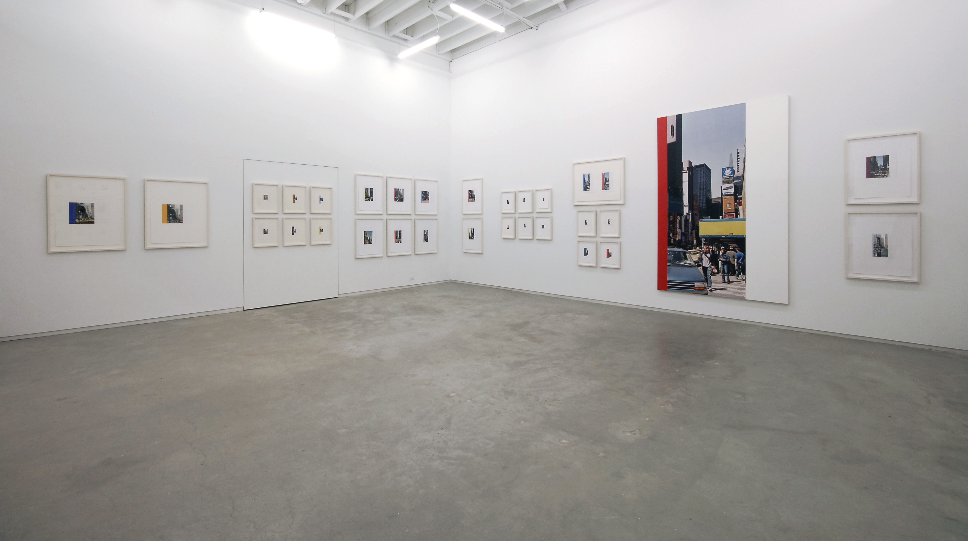 Ian Wallace, installation view, Process as Work​, Catriona Jeffries, 2008​ by
