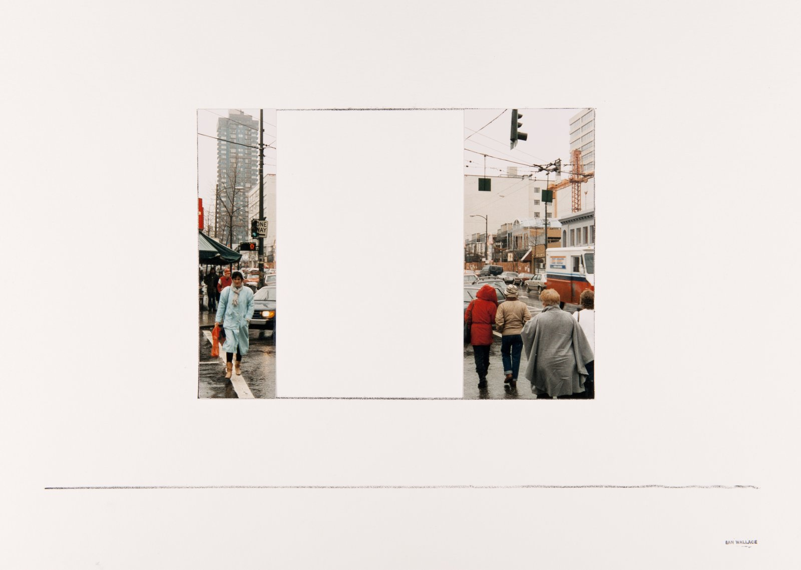 Ian Wallace,10 studies for My Heroes in the Street (1986), 1986, 10lithographs and colour photographs on paper, 15 x 22 in. (39 x 56 cm)