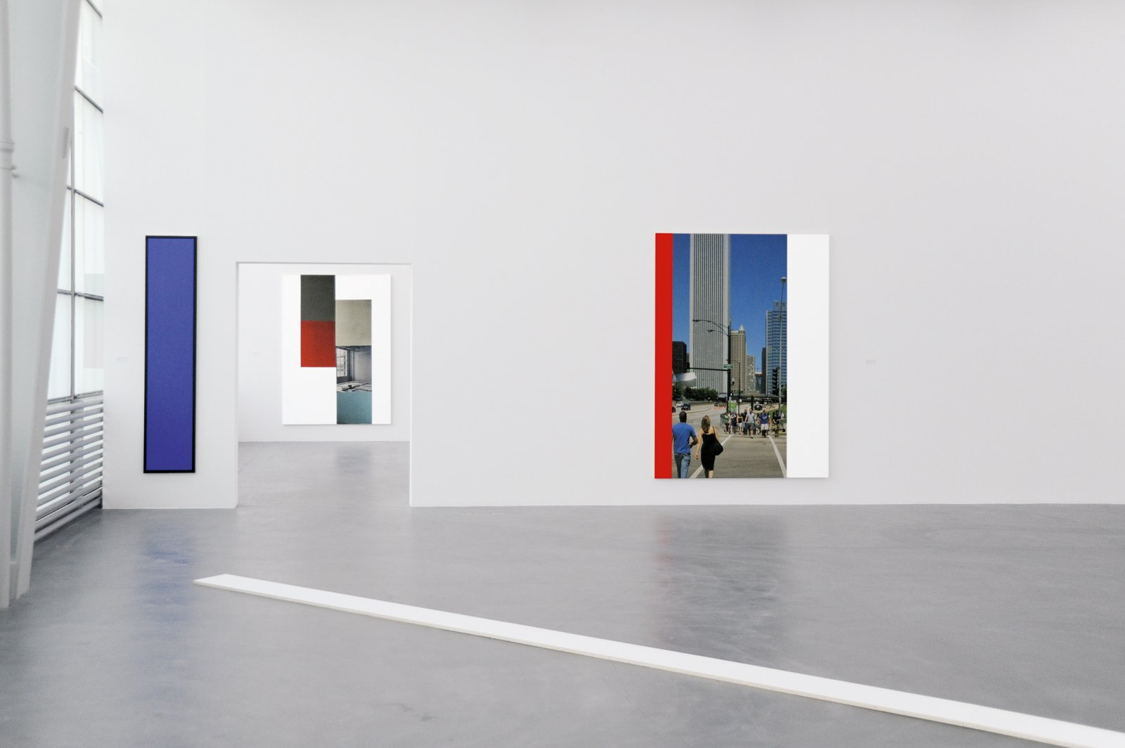 Ian Wallace, installation view, A Literature of Images, Kunsthalle Zürich, 2008 by Ian Wallace