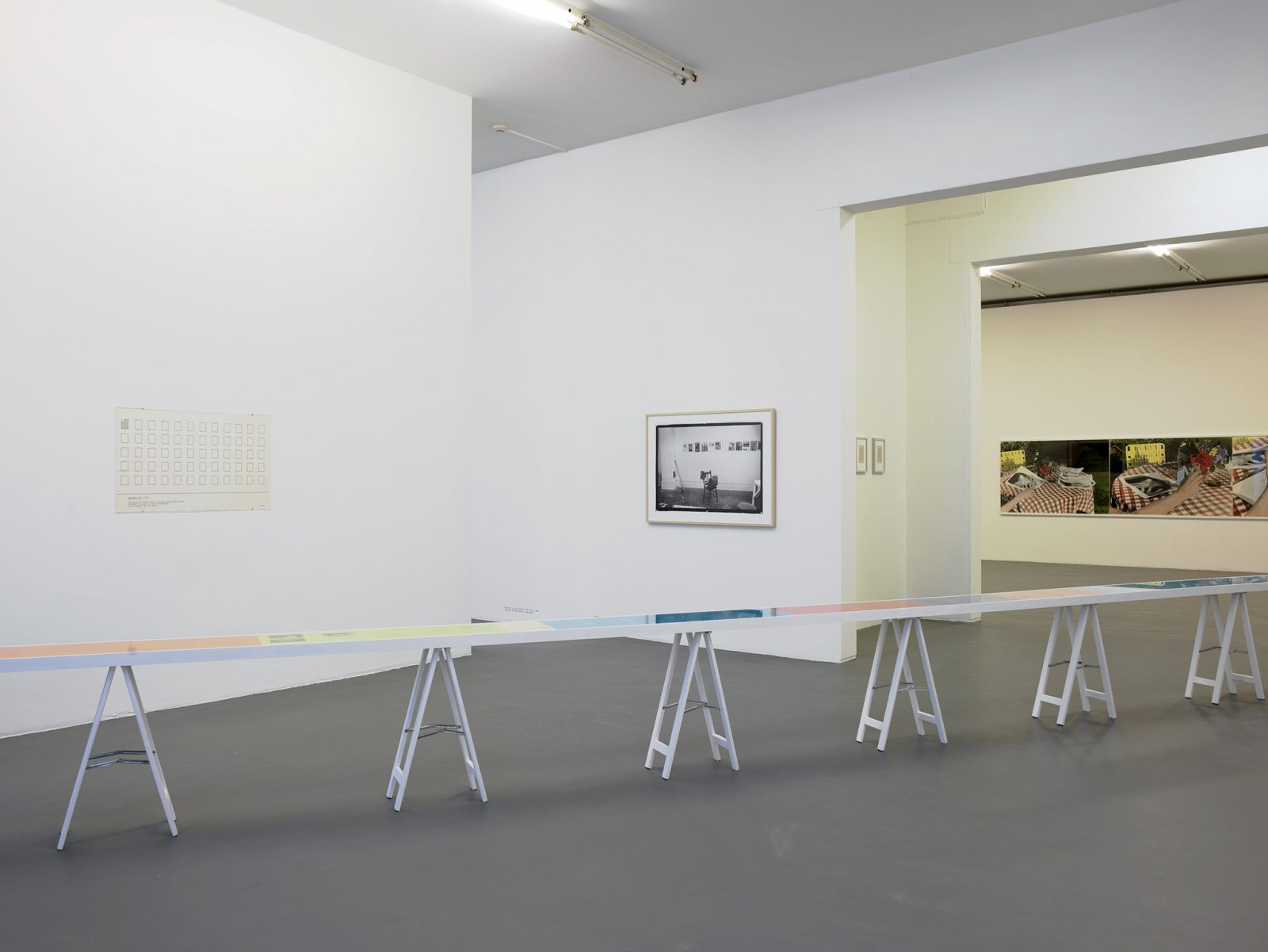 ​​Ian Wallace, installation view, A Literature of Images, Witte de With, Rotterdam, 2008​​ by Ian Wallace