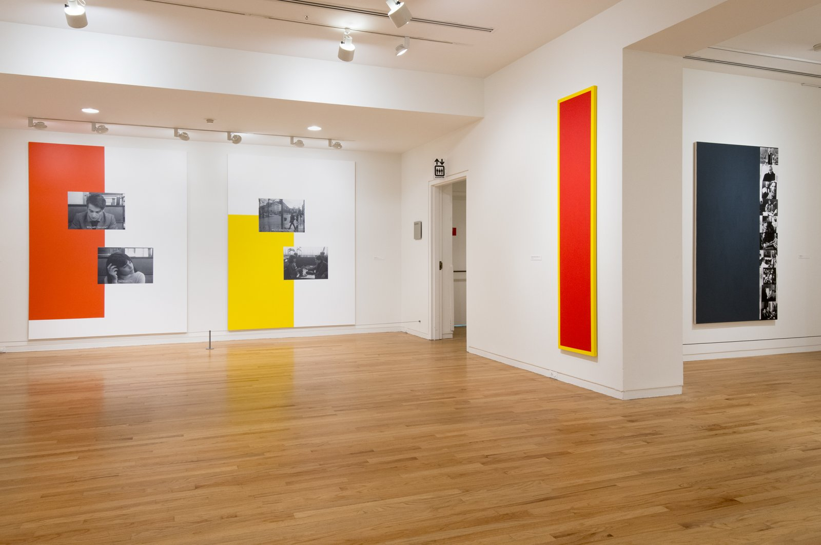 Ian Wallace, installation view, A Literature of Images, Vancouver Art Gallery, 2012 by Ian Wallace