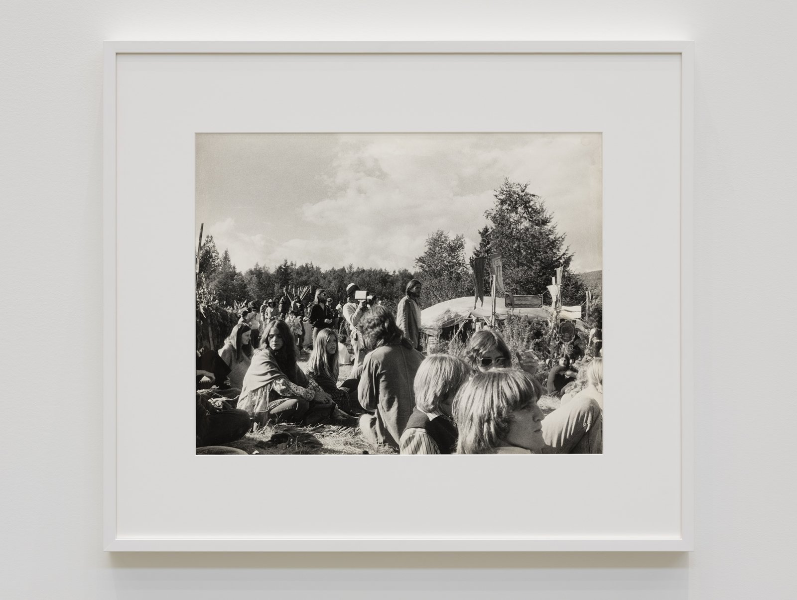 Ian Wallace, At the Pleasure Faire, 1971, silver gelatin print, 25 x 29 in. (62 x 72 cm)