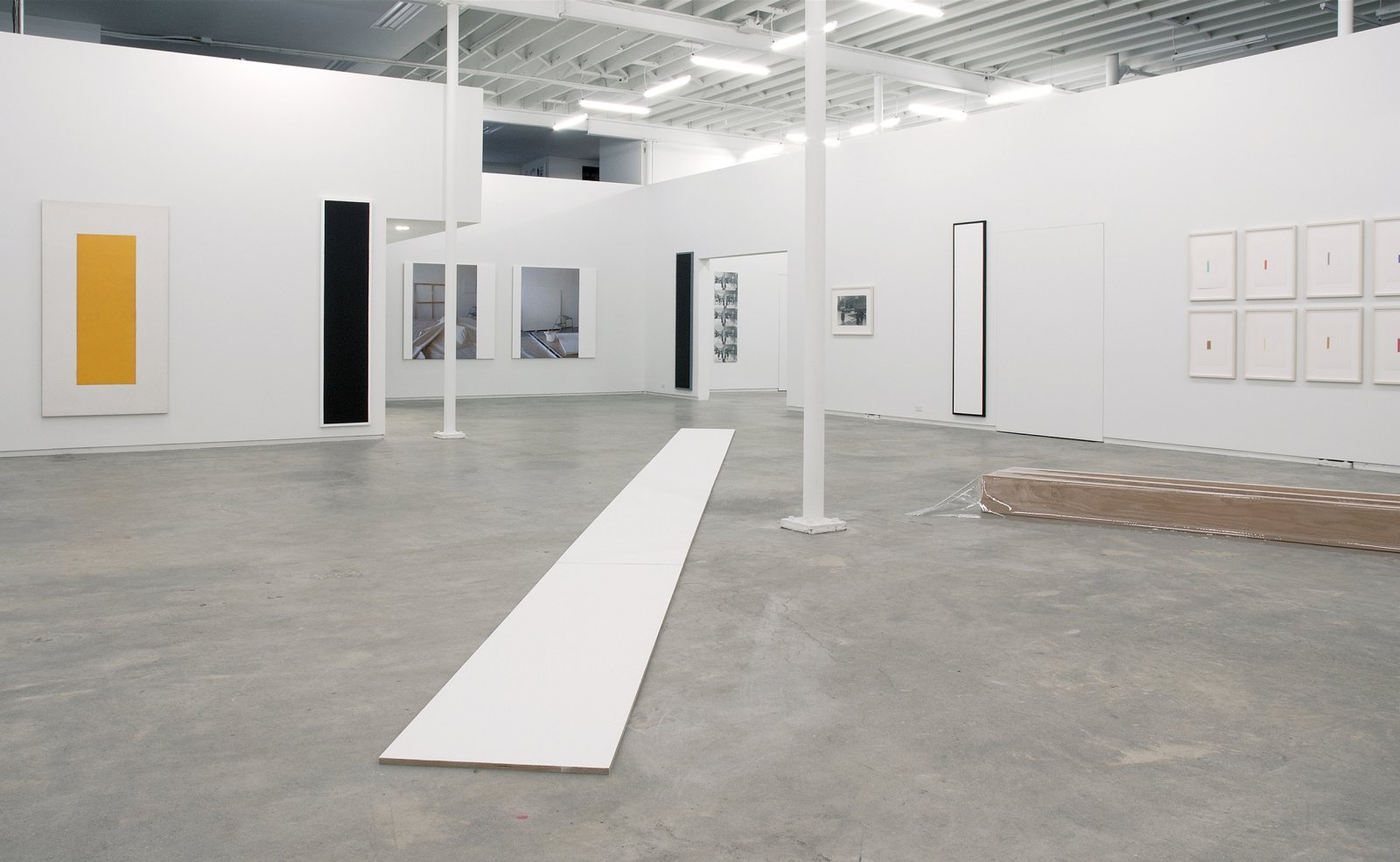 ​Ian Wallace, installation view, Catriona Jeffries, 2007 by Ian Wallace