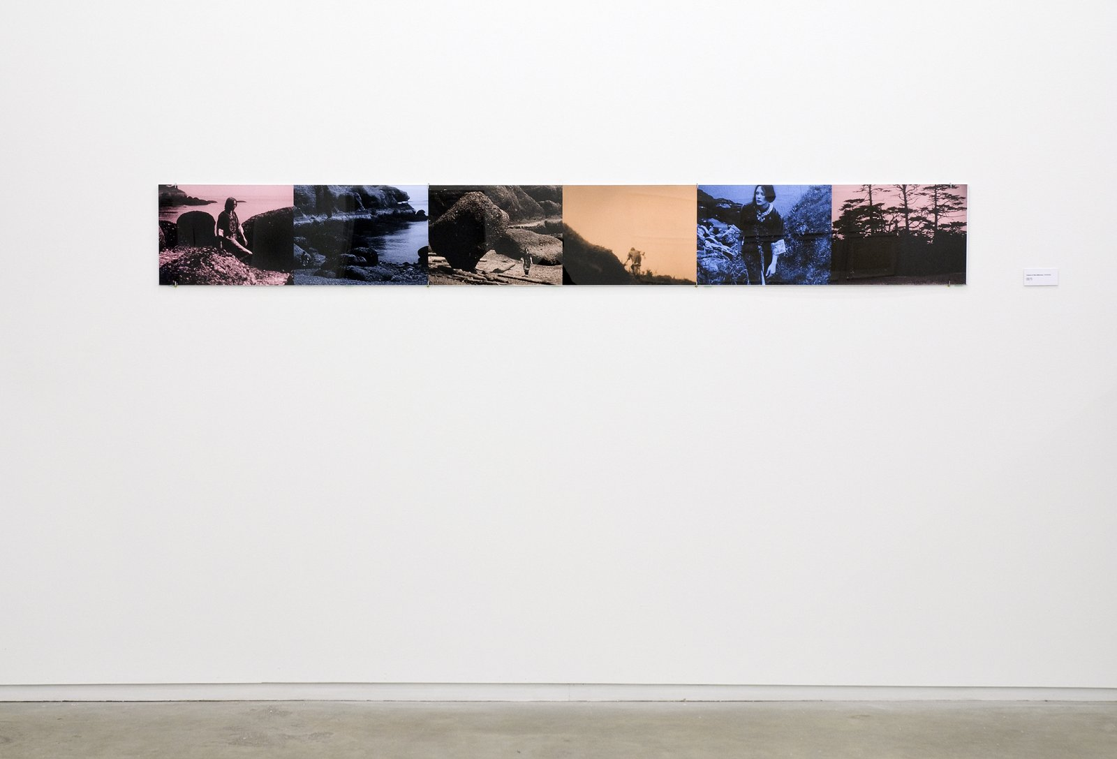 ​Ian Wallace, Colours of the Afternoon, 1979–2009, colour photo inkjet, 12 x 96 in. (30 x 244 cm) ​ by Ian Wallace