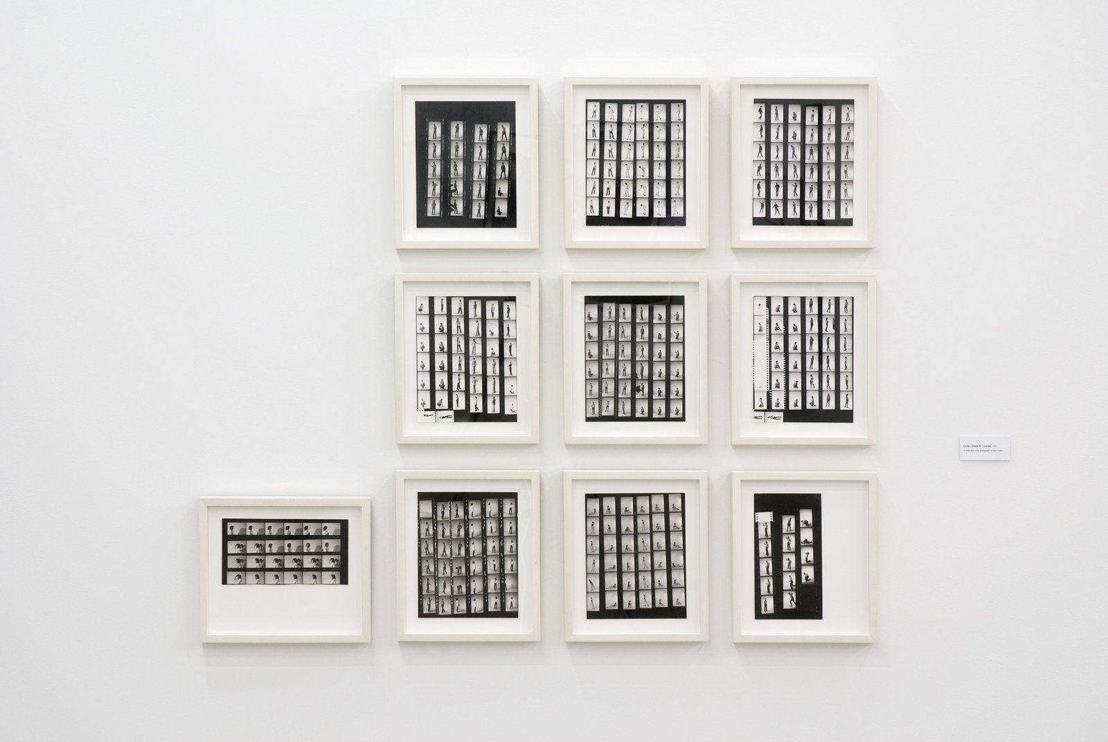 Ian Wallace, Contact Sheets for Lookout, 1979, 10 photo contact sheets, each 14 x 12 in. (34 x 29 cm) by Ian Wallace
