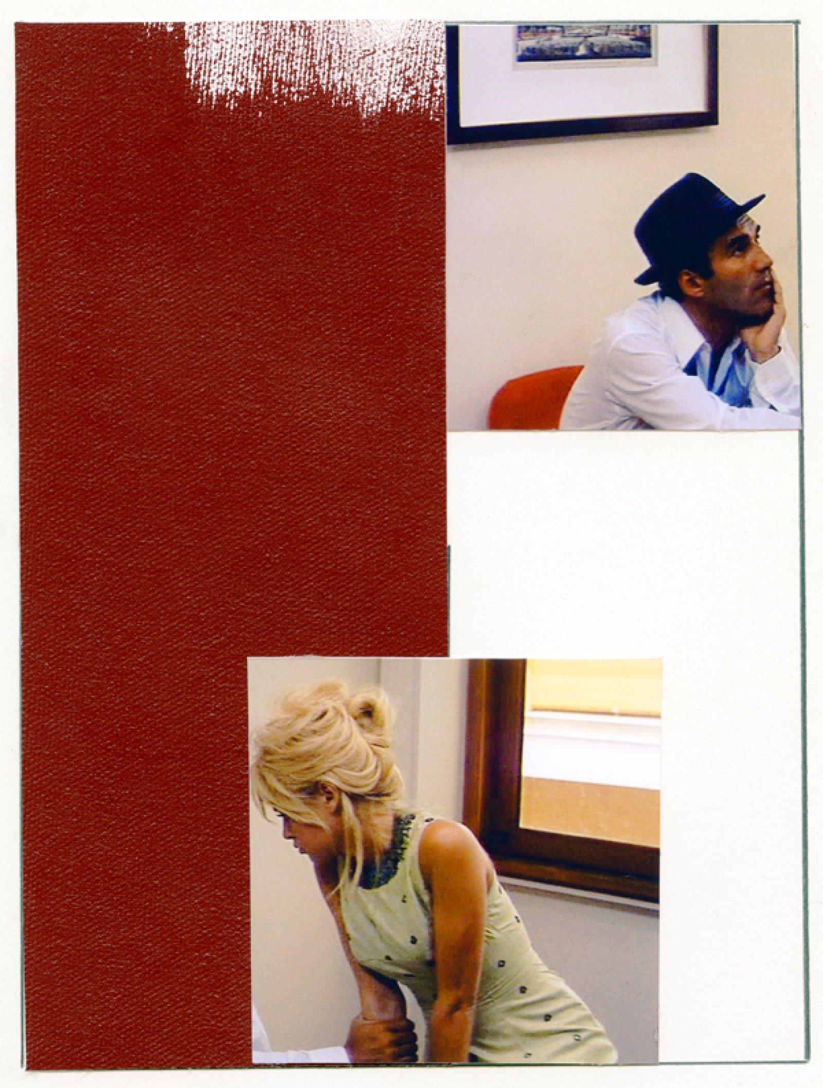 Ian Wallace, Enlarged Inkjet Study for Le Mépris I, 2010, inkjet print, 47 x 35 in. (119 x 89 cm)   by Ian Wallace