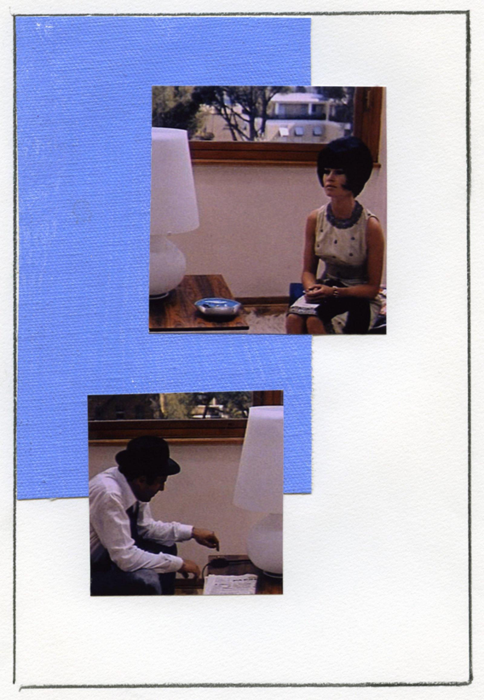 Ian Wallace, Enlarged Inkjet Study for Le Mépris VI, 2010, inkjet print, 47 x 35 in. (119 x 89 cm)   by Ian Wallace