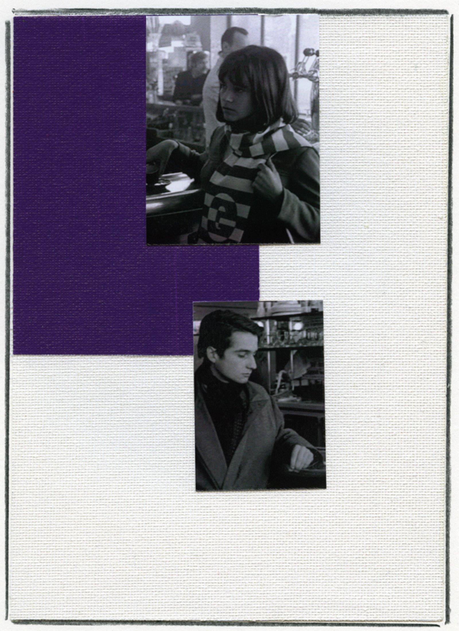 Ian Wallace, Enlarged Inkjet Study for Masculin/Féminin III, 2010, inkjet print, 47 x 35 in. (119 x 89 cm)   by Ian Wallace