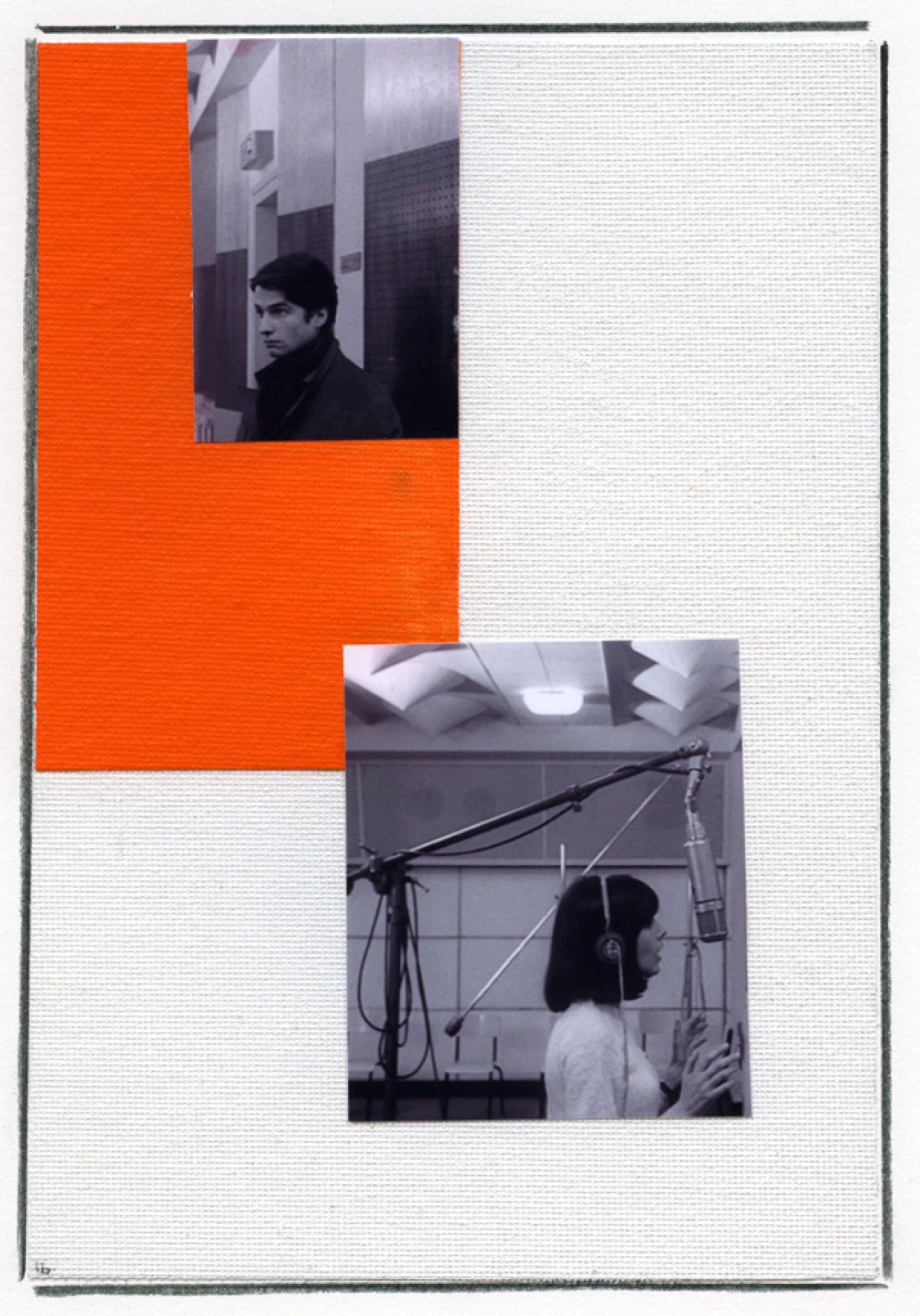 Ian Wallace, Enlarged Inkjet Study for Masculin/Féminin IV, 2010, inkjet print, 47 x 35 in. (119 x 89 cm)   by Ian Wallace