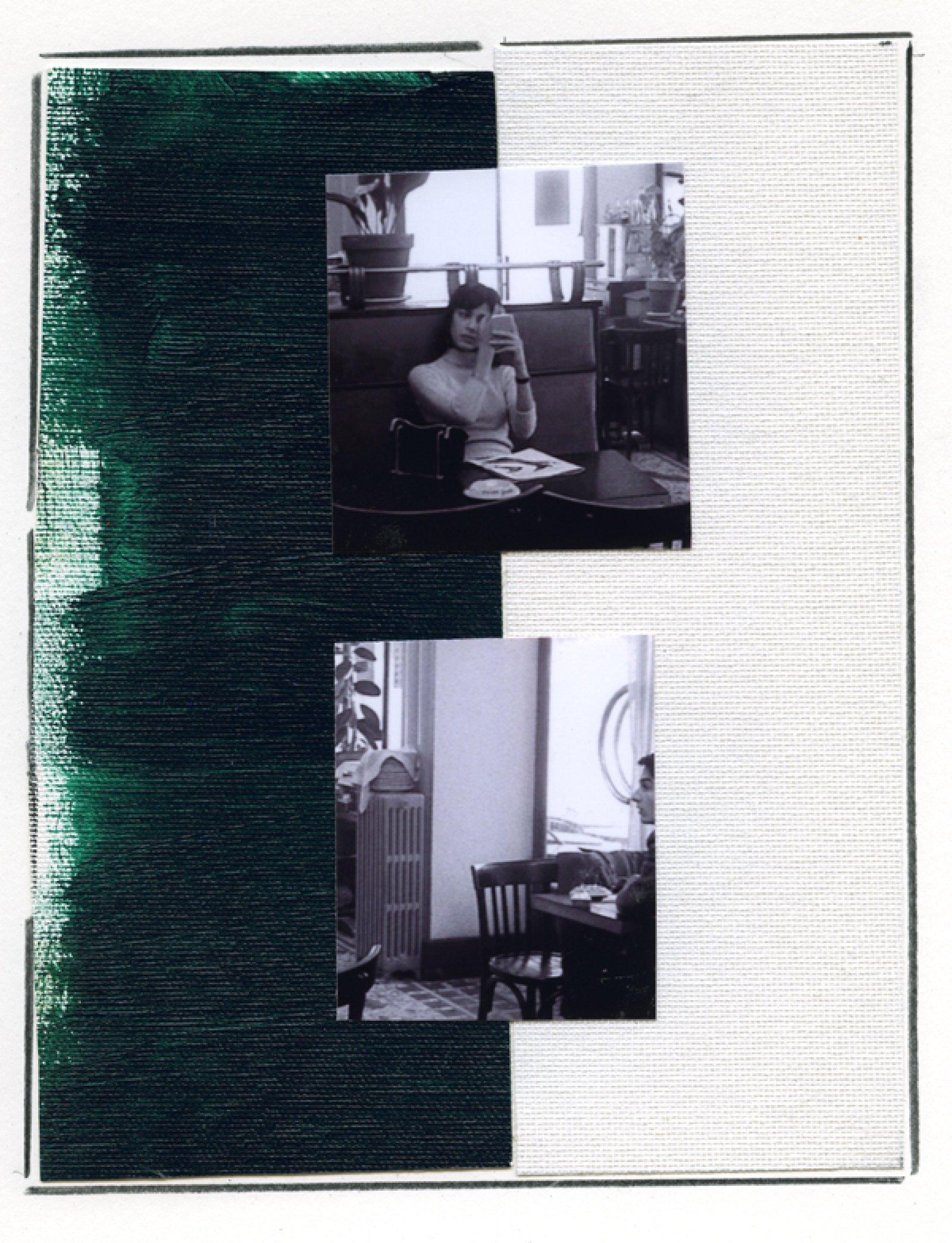 Ian Wallace, Enlarged Inkjet Study for Masculin/Féminin I, 2010, inkjet print, 47 x 35 in. (119 x 89 cm)   by Ian Wallace