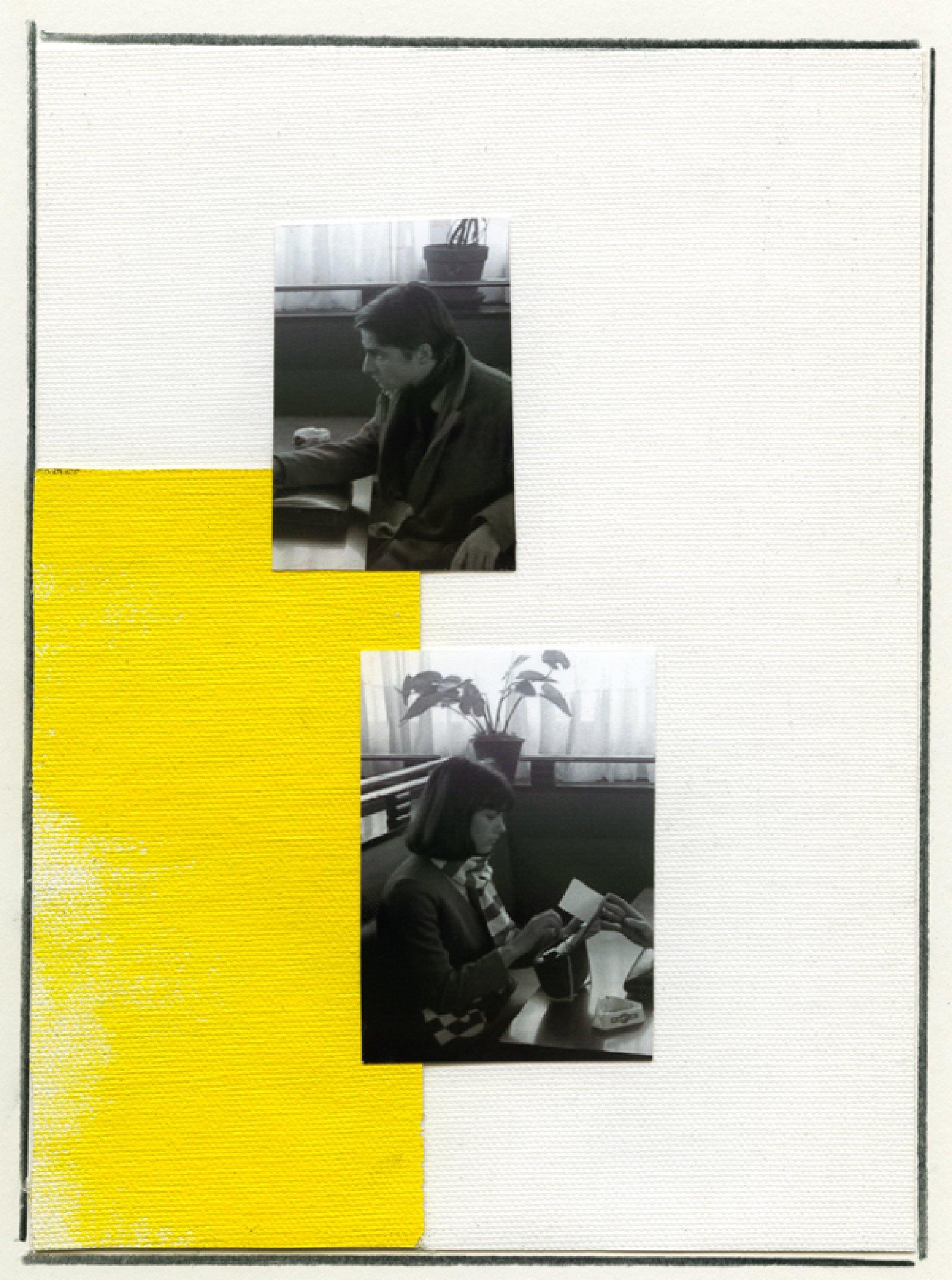 Ian Wallace, Enlarged Inkjet Study for Masculin/Féminin VI, 2010, inkjet print, 47 x 35 in. (119 x 89 cm)   by Ian Wallace