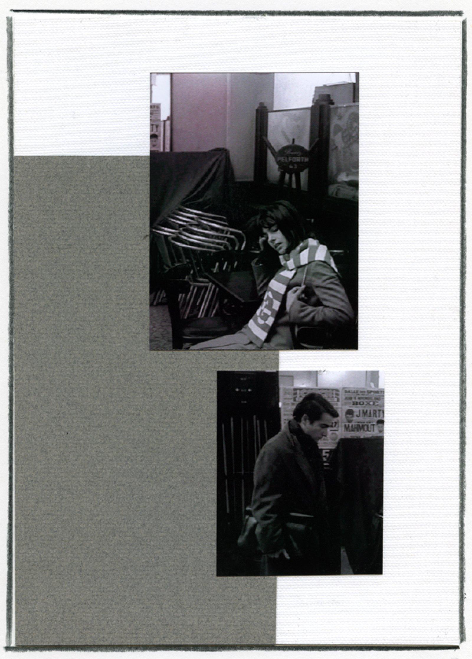 Ian Wallace, Enlarged Inkjet Study for Masculin/Féminin V, 2010, inkjet print, 47 x 35 in. (119 x 89 cm)   by Ian Wallace