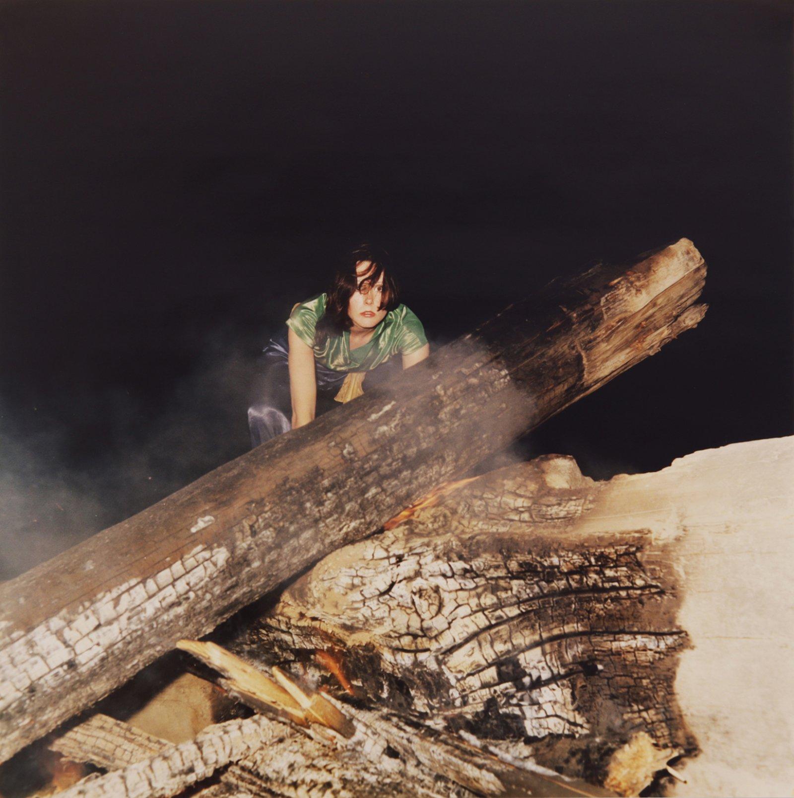 Ian Wallace, Hypnerotomachia (the Fire) (detail), 1977, 4 c-prints, 29 x 116 in. (74 x 295 cm)
