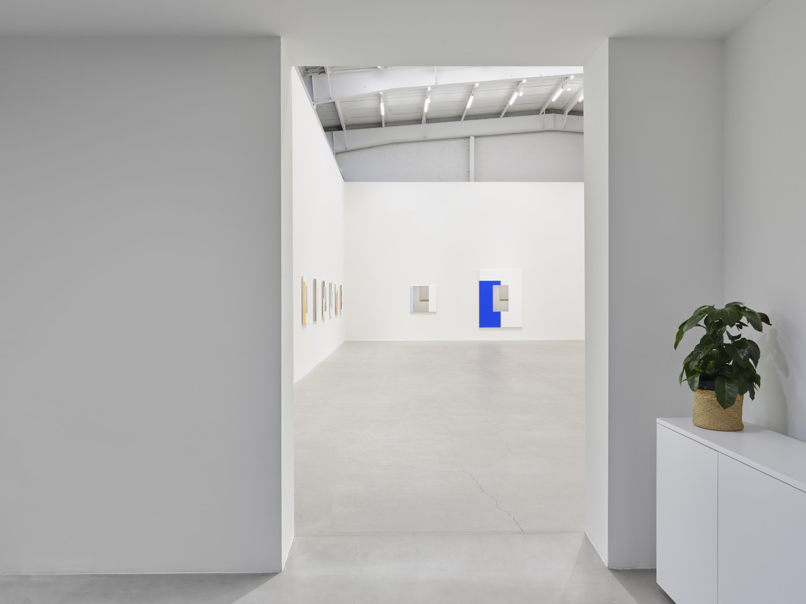 Ian Wallace, installation view, In the Museum, Catriona Jeffries, Vancouver, 2021 by Ian Wallace