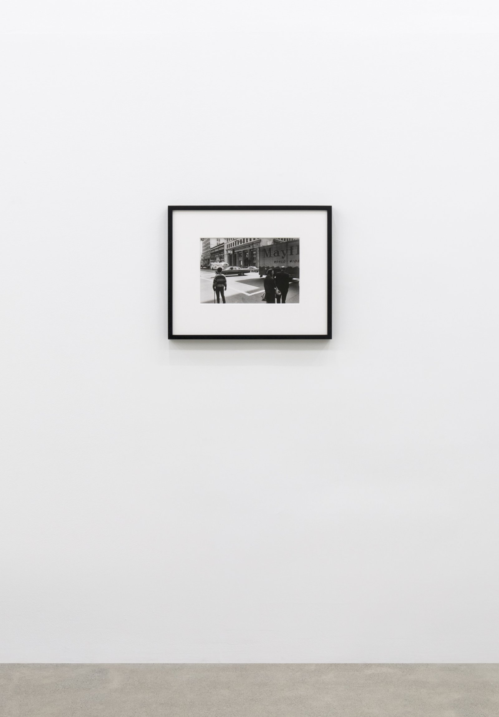 Ian Wallace, Intersection 1970, 1970–2008, black and white photograph, 10 x 14 in. (24 x 36 cm) by Ian Wallace