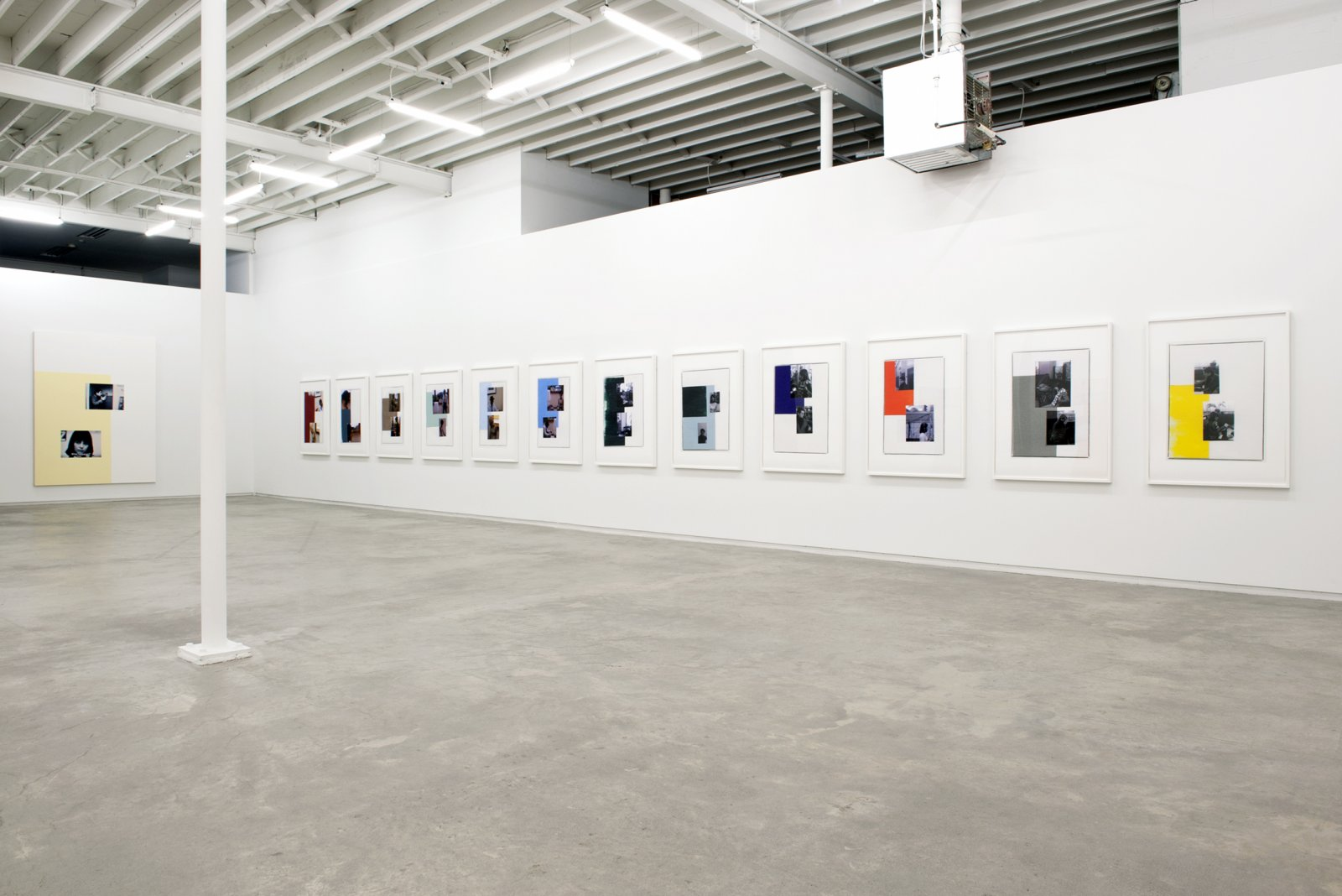 Ian Wallace, installation view, Masculin/Féminin, Catriona Jeffries, 2012  by Ian Wallace