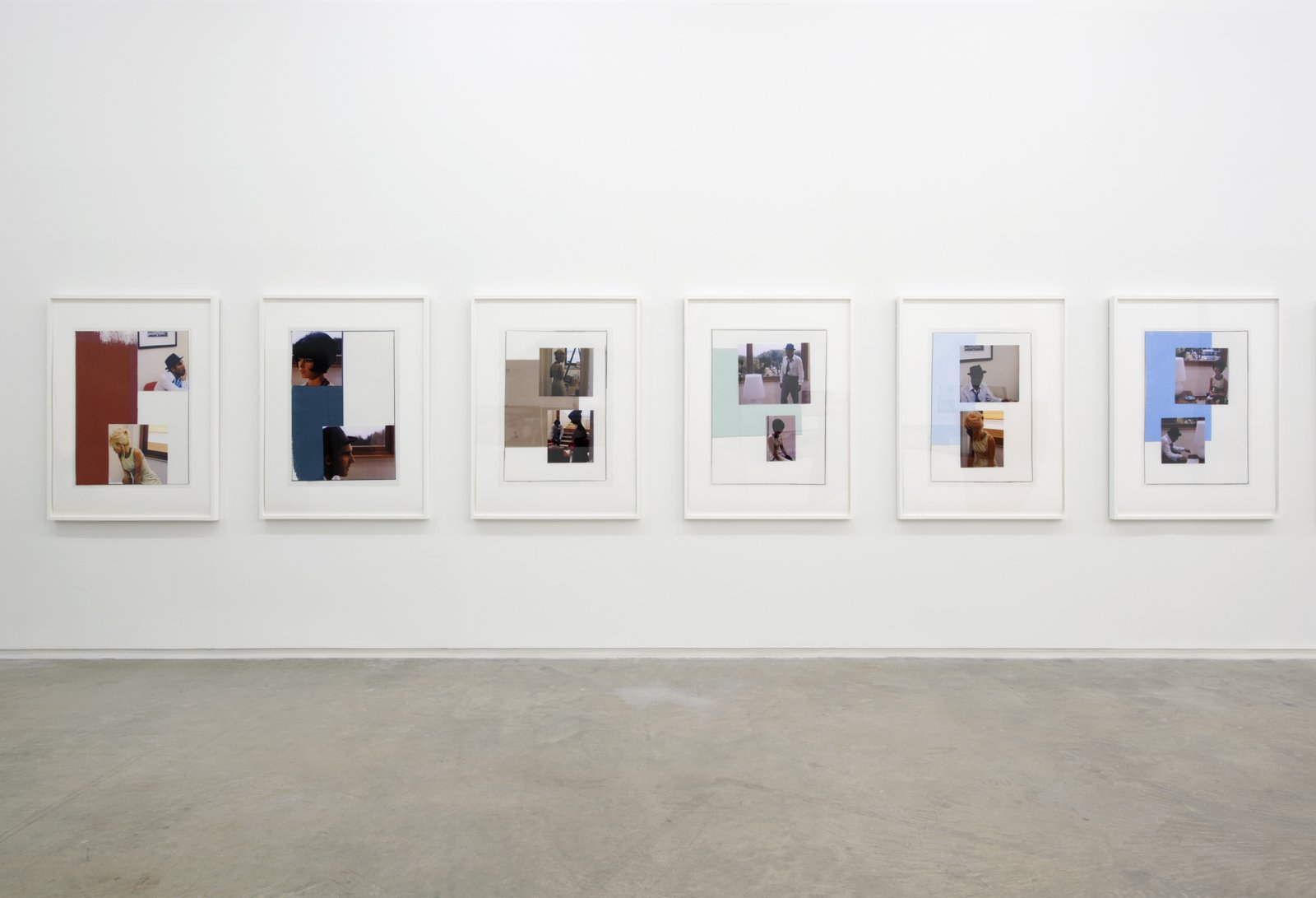 Ian Wallace, installation view, Masculin/Féminin, Catriona Jeffries, 2012 ​​ by Ian Wallace