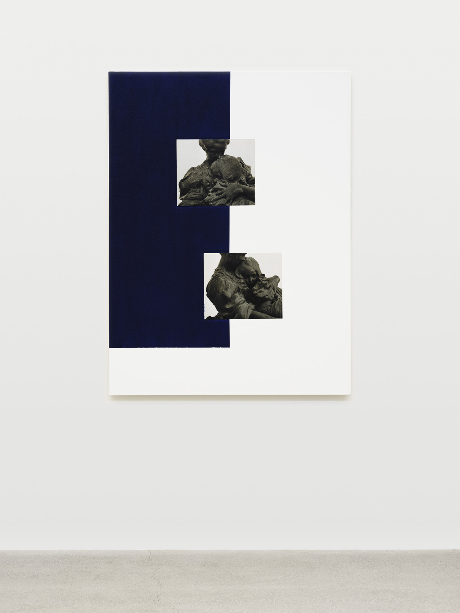 Ian Wallace, Materia, 2008, photolaminate with acrylic on canvas, 48 x 36 in. (122 x 91 cm)