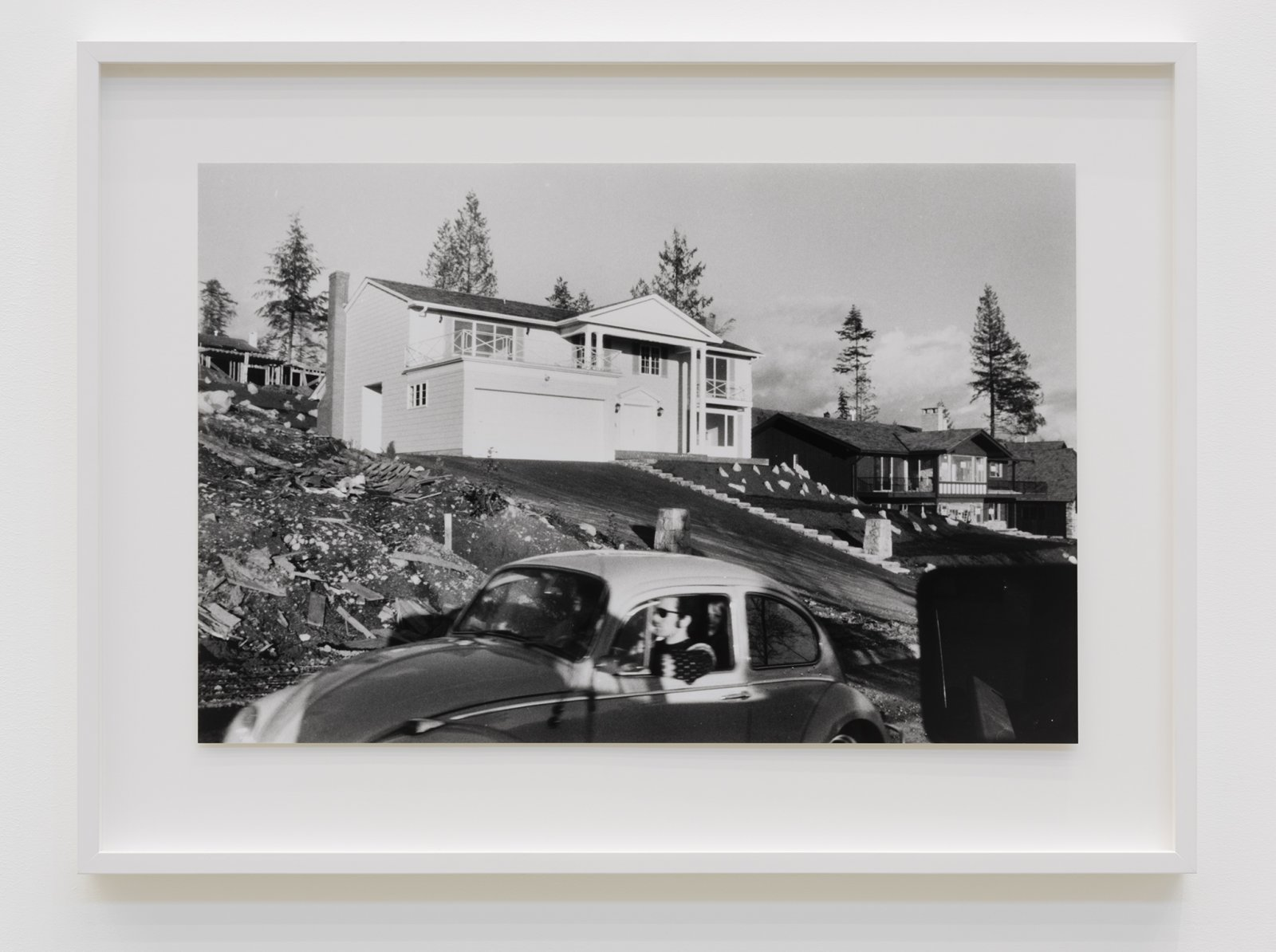 Ian Wallace, Untitled (+ Barthes' The Third Meaning), 1970–1998, silver gelatin print, 23 x 30 in. (57 x 77 cm)