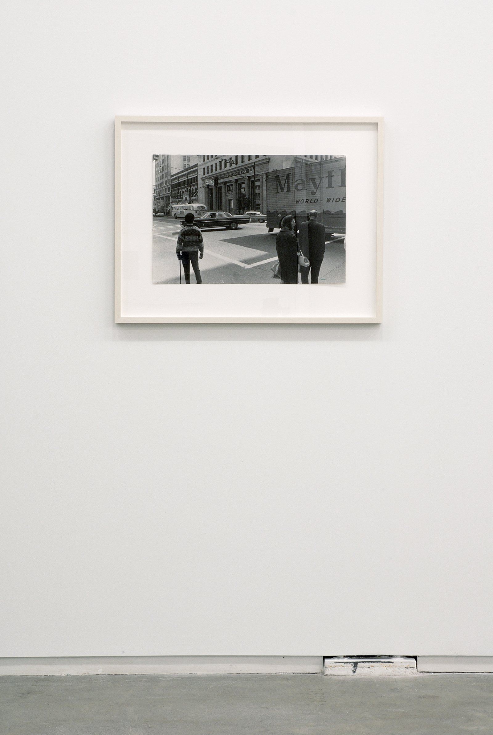 ​Ian Wallace, Untitled (Intersection), 1970–1995, silver print, 16 x 24 in. (39 x 60 cm) by Ian Wallace