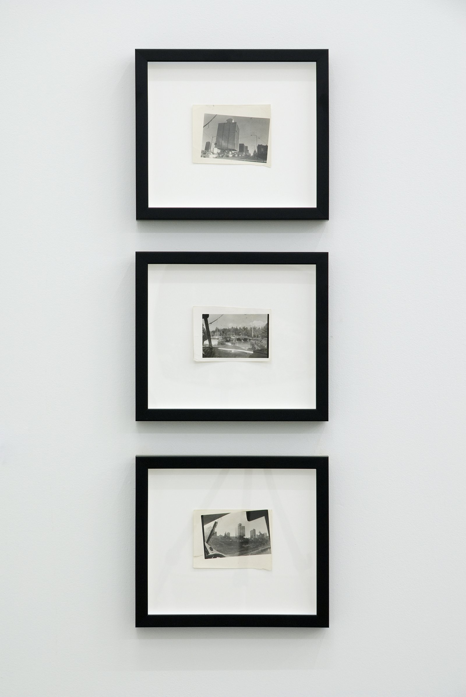 Ian Wallace, Untitled, 1969, black and white photographs, each 4 x 5 (9 x 12 cm) by Ian Wallace