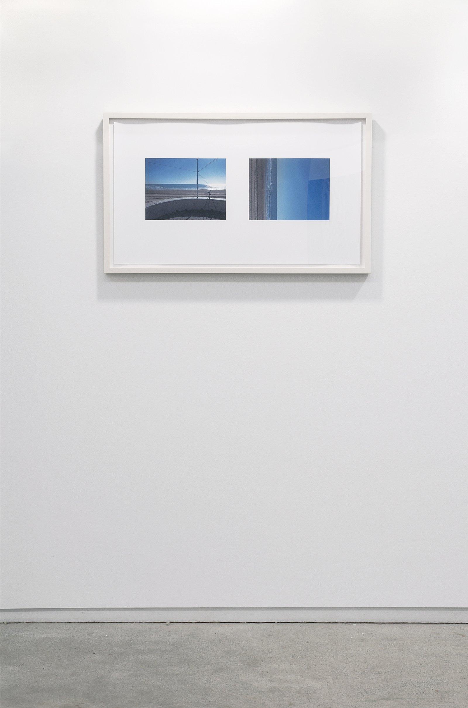Ian Wallace, Voramar Horizon, 2007, inkjet on paper, 18 x 32 in. (46 x 81 cm) by Ian Wallace