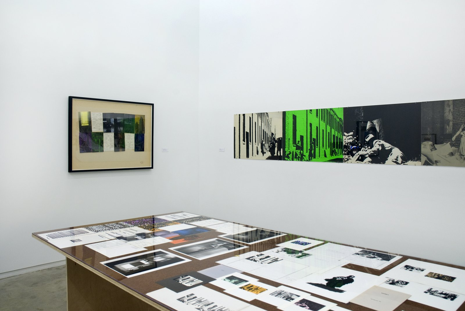 ​Ian Wallace, installation view, Works 1970–1979, Catriona Jeffries, 2009 by Ian Wallace