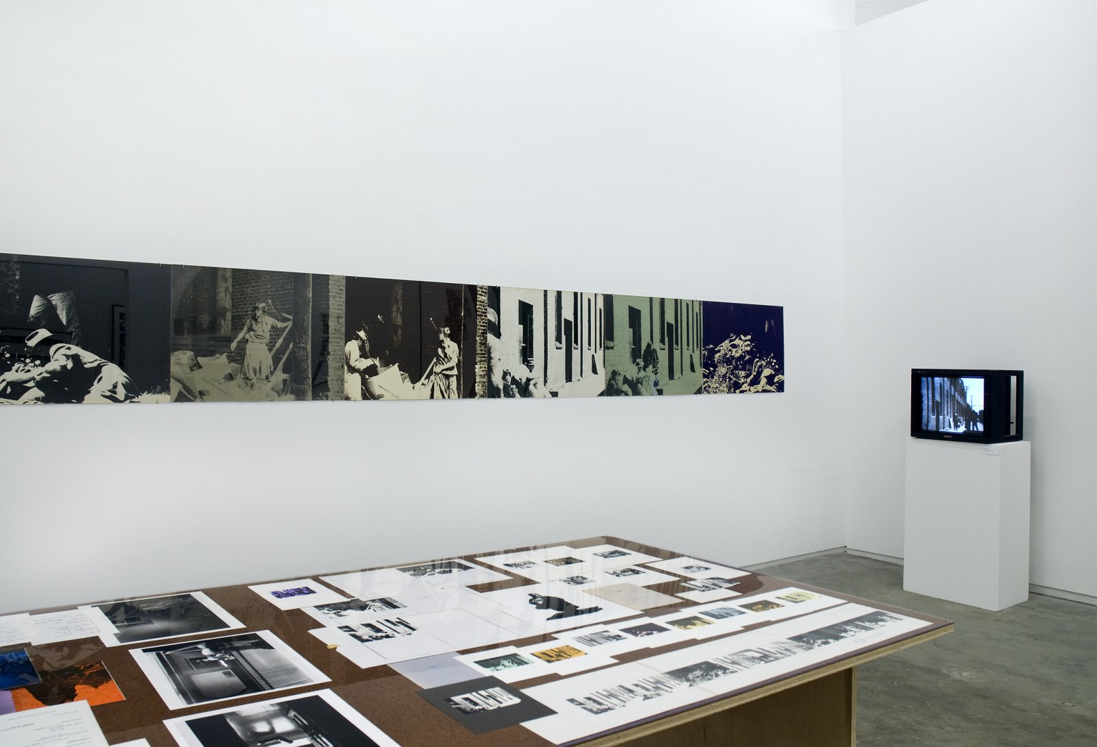 Ian Wallace, installation view, Works 1970–1979, Catriona Jeffries, 2009 by Ian Wallace